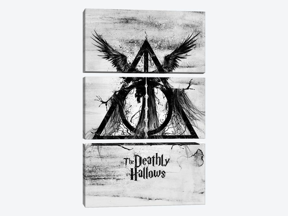 The Deathly Hallows by Nikita Abakumov 3-piece Canvas Art