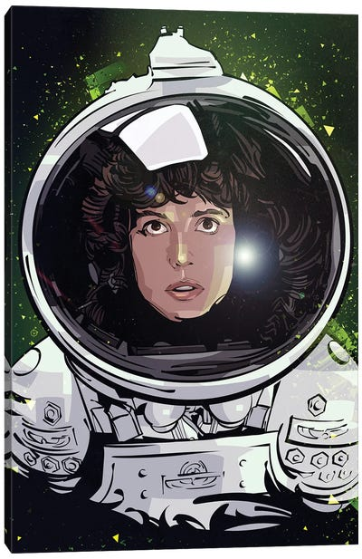 Ellen Ripley Canvas Art Print