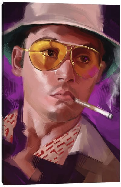 Fear And Loathing Las Vegas Canvas Art Print
