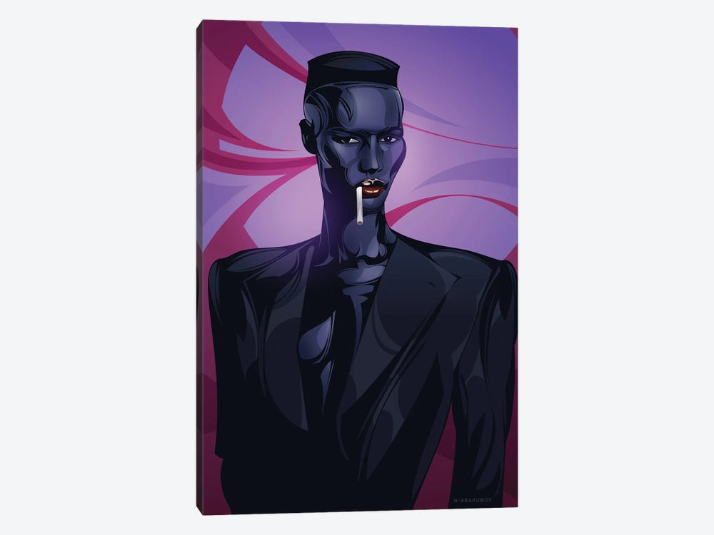 Grace Jones by Nikita Abakumov 1-piece Canvas Print