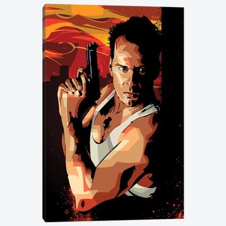 Die Hard I Canvas Print #AKM15} by Nikita Abakumov Canvas Art Print