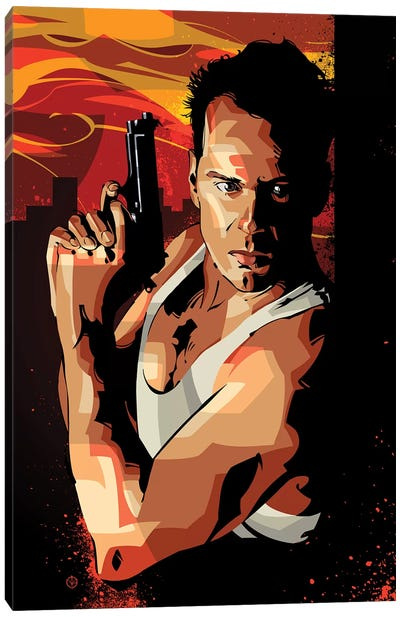 Die Hard I Canvas Art Print