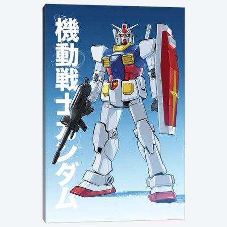 Gundam Canvas Print #AKM160} by Nikita Abakumov Canvas Print