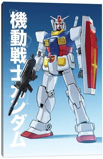 Gundam Canvas Art Print