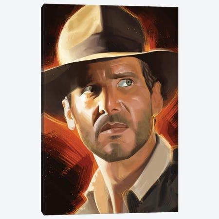 Indiana Jones Canvas Print #AKM163} by Nikita Abakumov Canvas Print