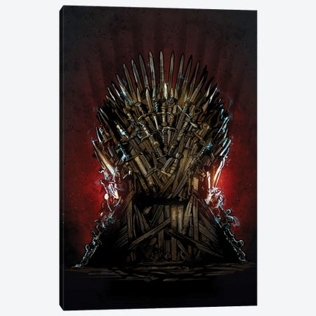 Iron Throne Got Canvas Print #AKM164} by Nikita Abakumov Canvas Wall Art