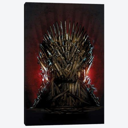Iron Throne Got Canvas Print #AKM164} by Nikita Abakumov Canvas Wall Art