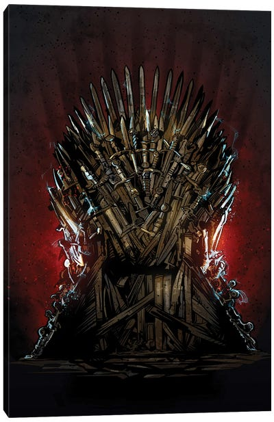 Iron Throne Got Canvas Art Print