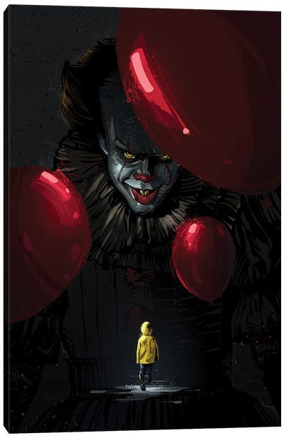 Pennywise Canvas Art Print
