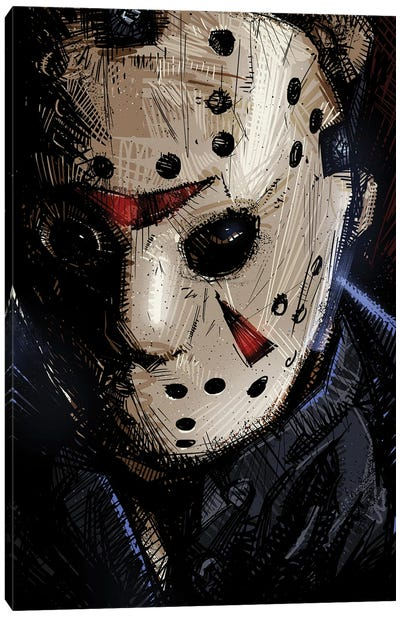 Jason Voorhees I Canvas Art Print