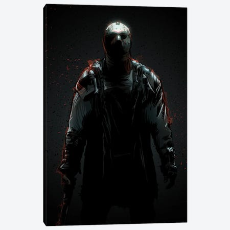 Jason Voorhees II Canvas Print #AKM168} by Nikita Abakumov Canvas Art Print