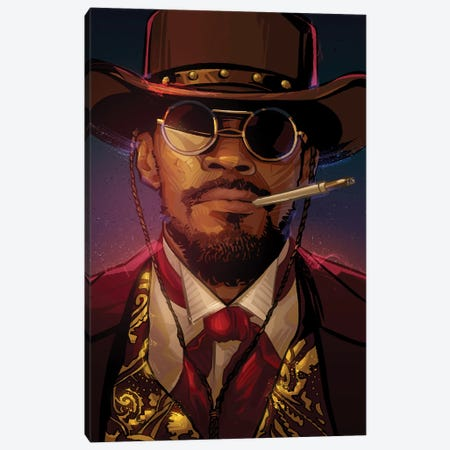 Django Canvas Print #AKM16} by Nikita Abakumov Canvas Print
