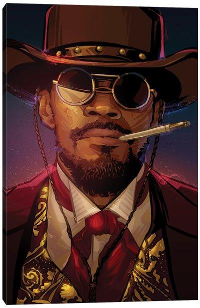 Django Canvas Art Print