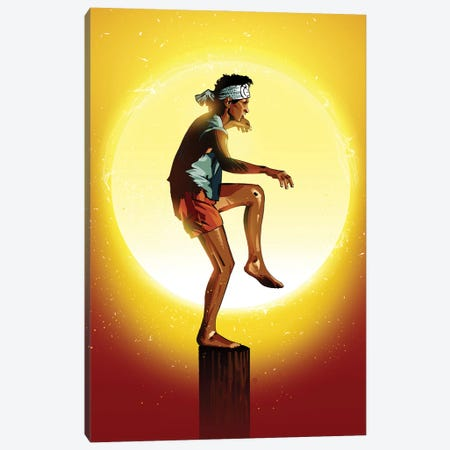 Karate Kid Canvas Print #AKM177} by Nikita Abakumov Canvas Print
