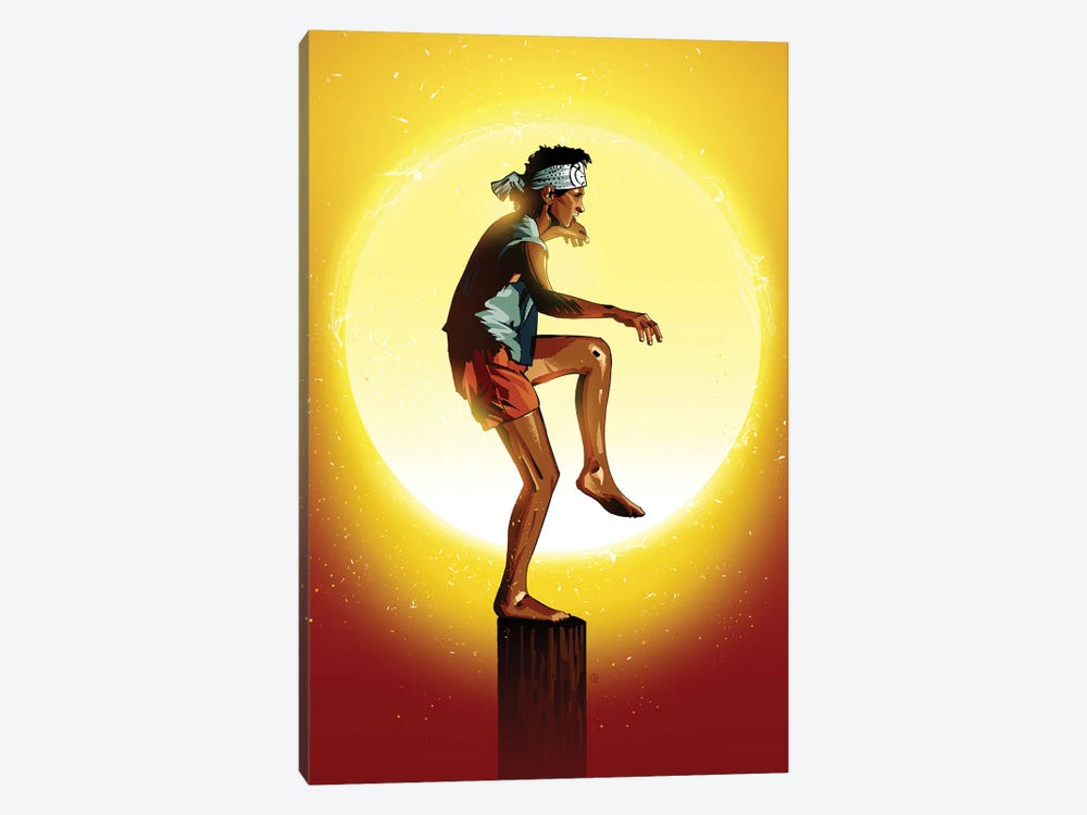 Karate Kid by Nikita Abakumov 1-piece Canvas Wall Art
