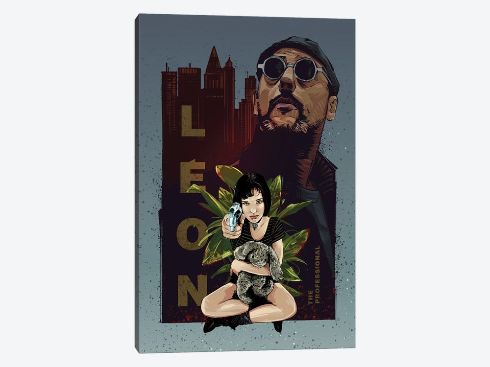 Leon The Professional by Nikita Abakumov 1-piece Canvas Art Print