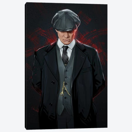 Peaky Blinders Canvas Print #AKM205} by Nikita Abakumov Canvas Art Print