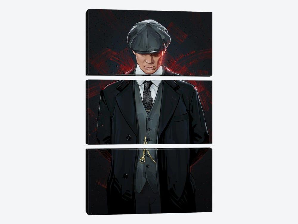 Peaky Blinders by Nikita Abakumov 3-piece Canvas Art Print