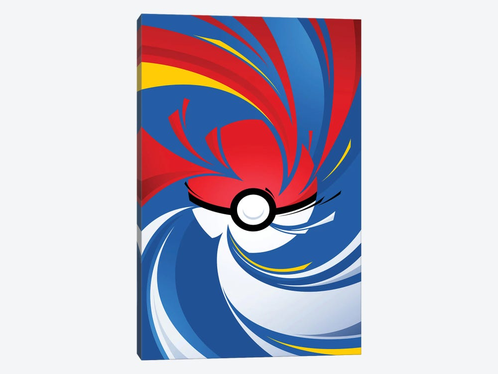 Monster Ball 1-piece Canvas Art