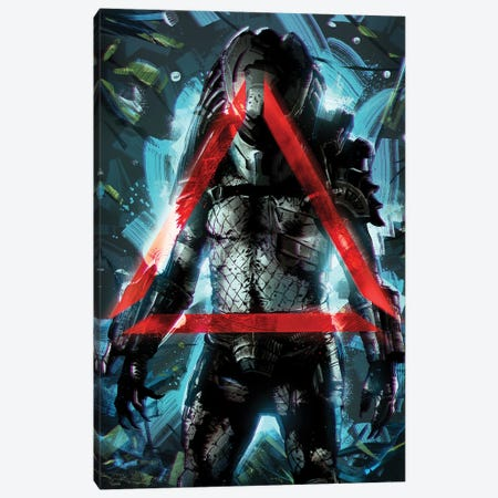 Predator II Canvas Print #AKM213} by Nikita Abakumov Canvas Art Print