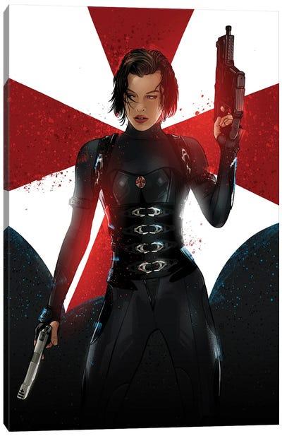 Resident Evil Canvas Art Print