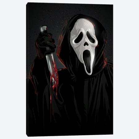 Scream Canvas Print #AKM218} by Nikita Abakumov Canvas Print