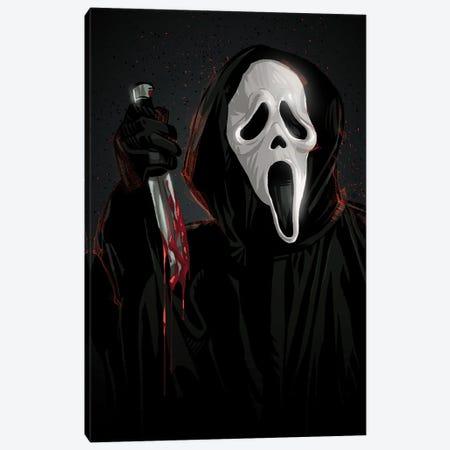 Scream Canvas Print #AKM218} by Nikita Abakumov Canvas Print