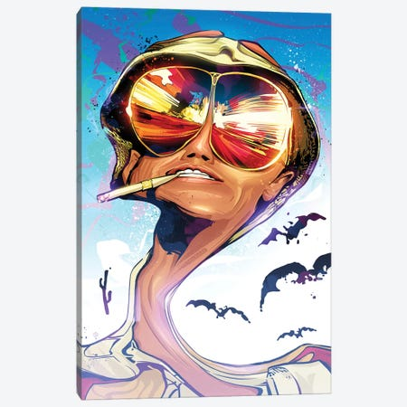 Fear And Loathing Canvas Print #AKM21} by Nikita Abakumov Canvas Art Print