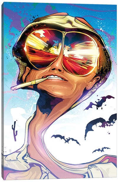 Fear And Loathing Canvas Art Print