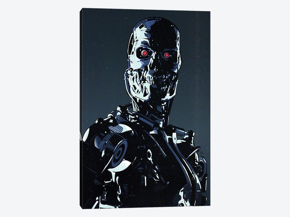 Terminator Cyborg by Nikita Abakumov 1-piece Canvas Wall Art