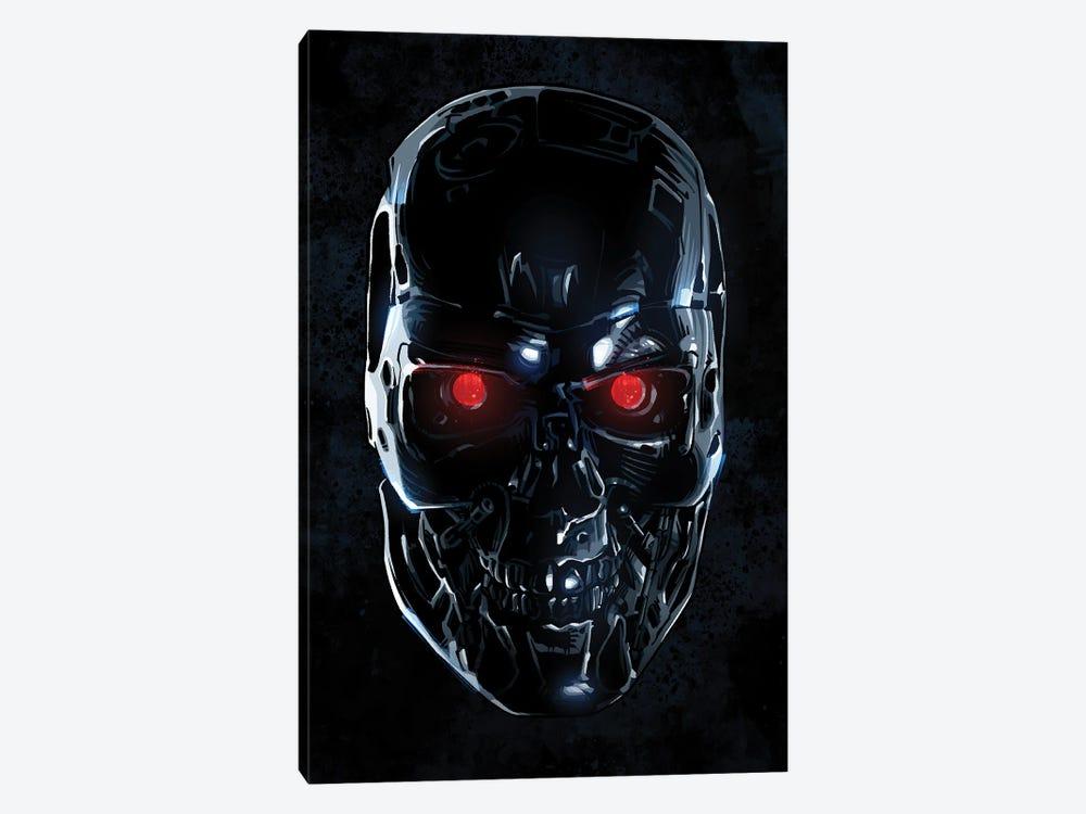 Terminator Face by Nikita Abakumov 1-piece Art Print