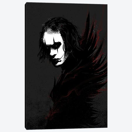 The Crow Canvas Print #AKM222} by Nikita Abakumov Canvas Artwork