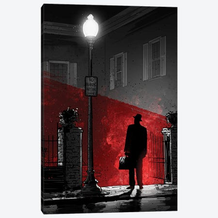 The Exorcist Canvas Print #AKM223} by Nikita Abakumov Canvas Art