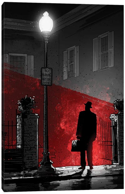 The Exorcist Canvas Art Print