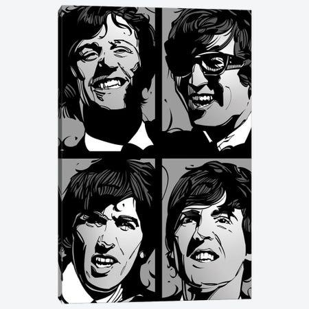 Liverpool Four Canvas Print #AKM224} by Nikita Abakumov Canvas Print