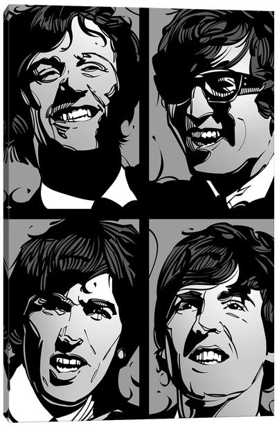 Liverpool Four Canvas Art Print