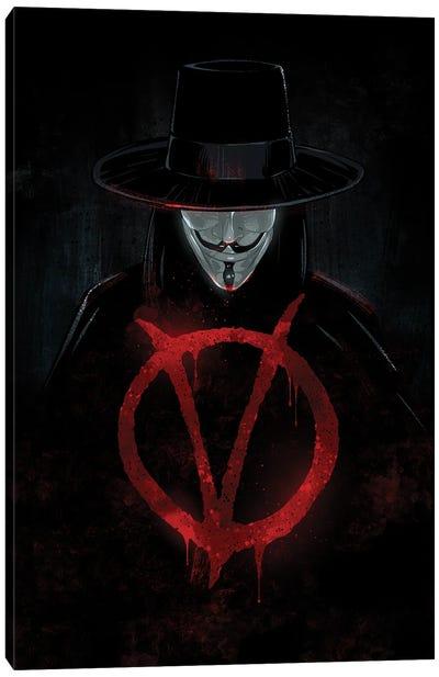 Vendetta Canvas Art Print