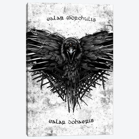 Valar Morghulis GOT Canvas Print #AKM233} by Nikita Abakumov Canvas Art Print