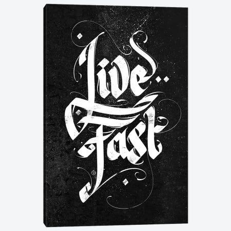 Live Fast Canvas Print #AKM239} by Nikita Abakumov Canvas Art Print