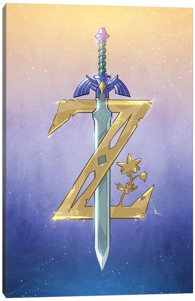 Zelda Canvas Art Print