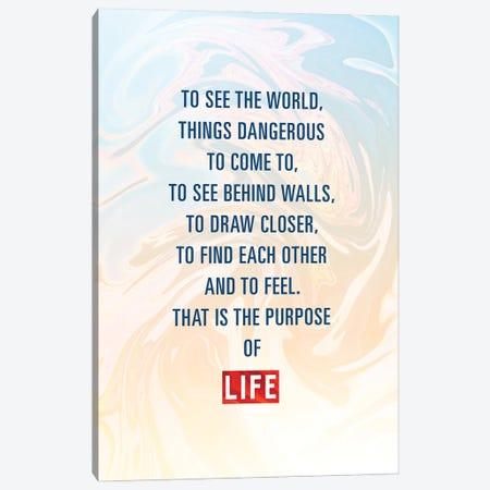 The Purpose Of Life Canvas Print #AKM243} by Nikita Abakumov Canvas Art