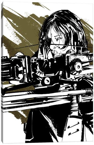 The Walking Dead Daryl Canvas Art Print