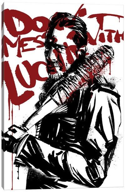 The Walking Dead Negan Canvas Art Print