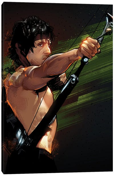 Rambo First Blood Canvas Art Print