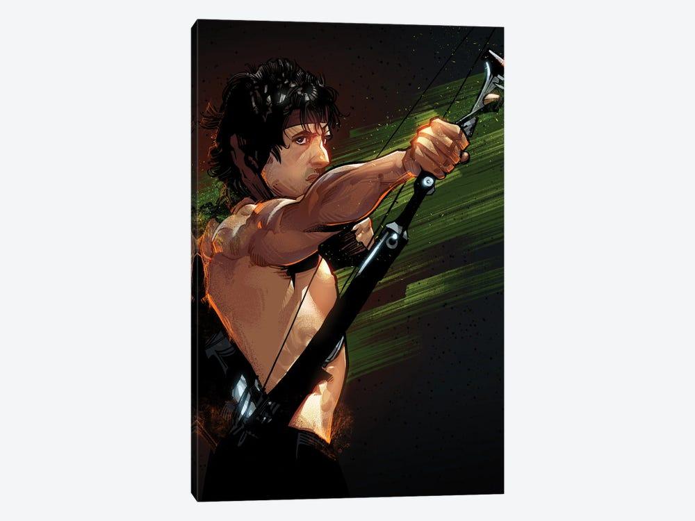 Rambo First Blood by Nikita Abakumov 1-piece Canvas Art