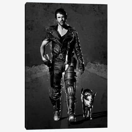 Mad Max Chrome Canvas Print #AKM250} by Nikita Abakumov Art Print