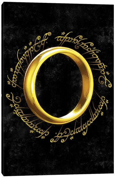 The One Ring Canvas Art Print