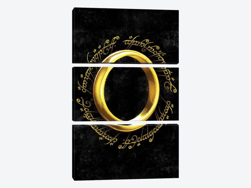 The One Ring by Nikita Abakumov 3-piece Canvas Artwork
