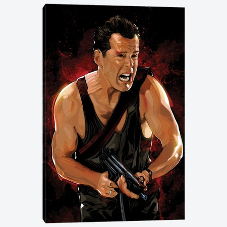 Die Hard I Canvas Print #AKM254} by Nikita Abakumov Canvas Artwork