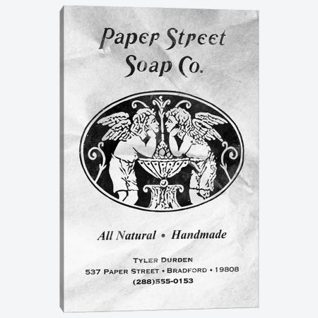 Paper Street Soap Co W Canvas Print #AKM262} by Nikita Abakumov Canvas Artwork